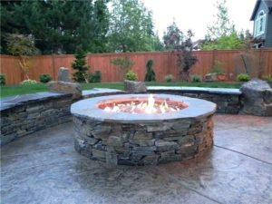 natural gas bowl fire pit